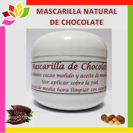 Lingua - Mascarilla natural de chocolate