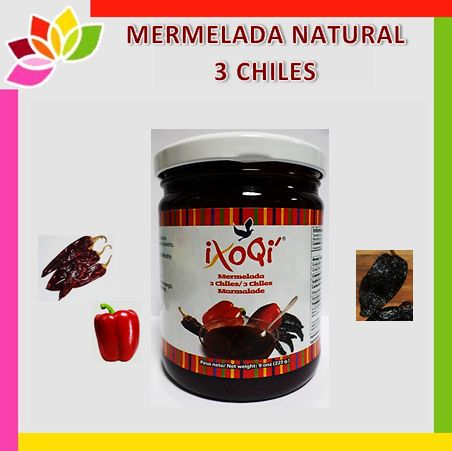 Lingua - Mermelada natural de tres chiles