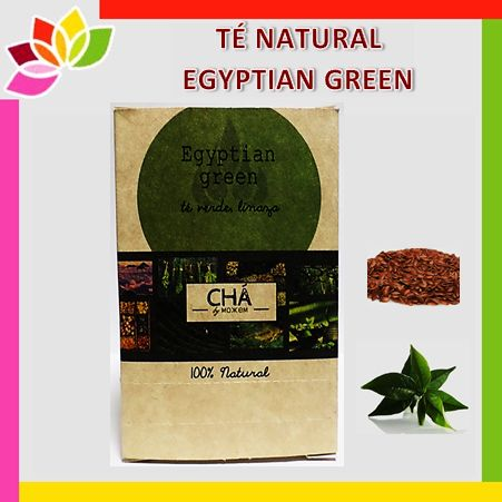 Té natural Egyptian green