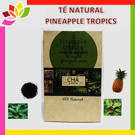 Lingua - Té natural Pineapple tropics